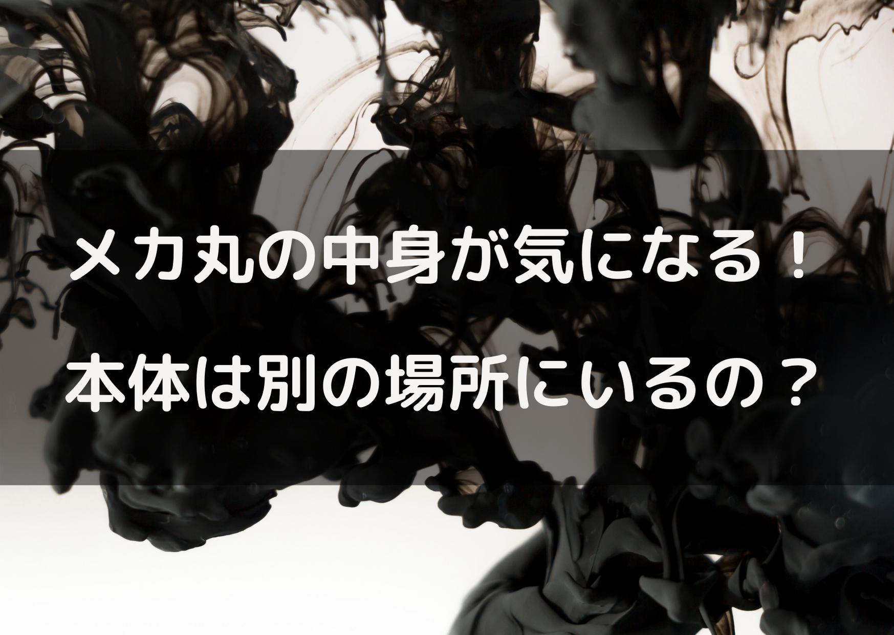 呪術廻戦 メカ丸 中身